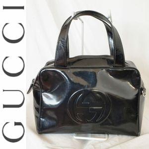 Gucci Leather Tote Purse
